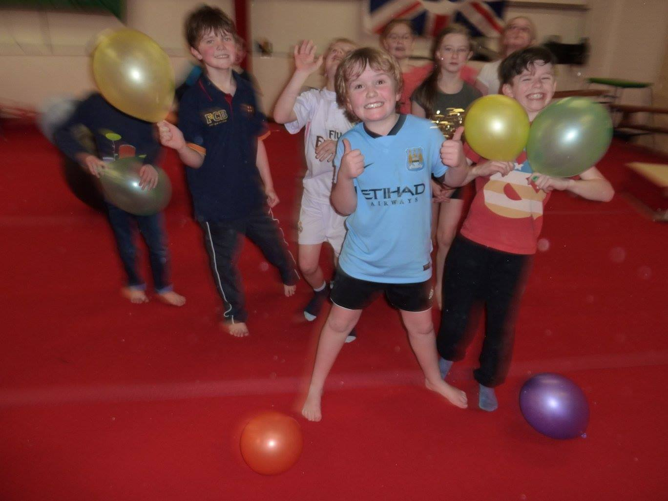 Dylans gym party