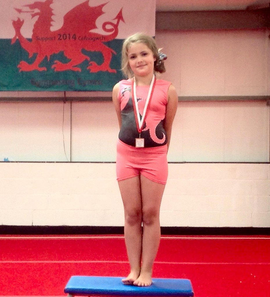 Molly Cook third medal